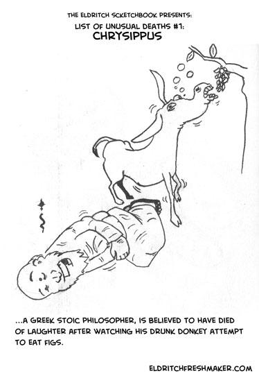 Sketchbook: Chrysippus