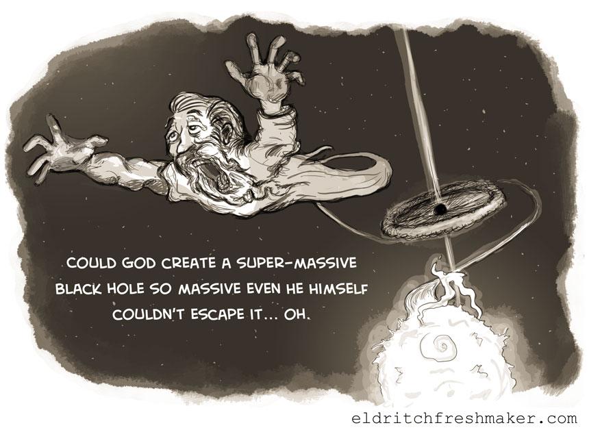 Image result for god is a black hole
